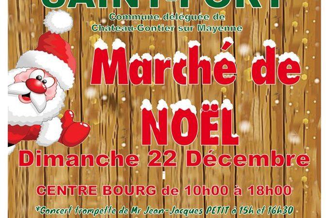 Marché de Noël de St Fort